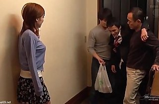 3some fuck, asians, japaneses, jav, young-old