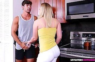 Big butt, Big Dicks, blonde, blowjob, brother, tits, deep throat, friends