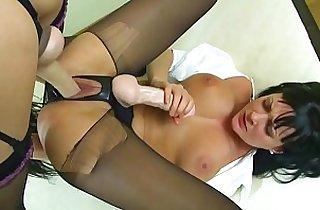 blowjob, cream, fetishes, handjob, hardcore sex, HD, heels, leggy