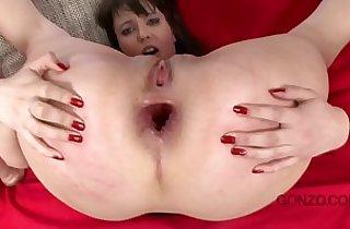 anal, asian babe, busty asian, tits, curvy girl, deep throat, gaped, giant titties