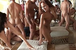 asians, orgies, party