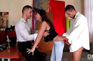 3some fuck, anal, gaped, glamour, hardcore sex