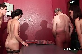 4some, amateur sex, anal, asian babe, ass, banging, europe, rope sex